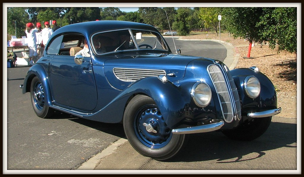 Bmw I >> 1939 BMW 327/28 Pillarless Coupe 2 | Photographed at the Pal… | Flickr