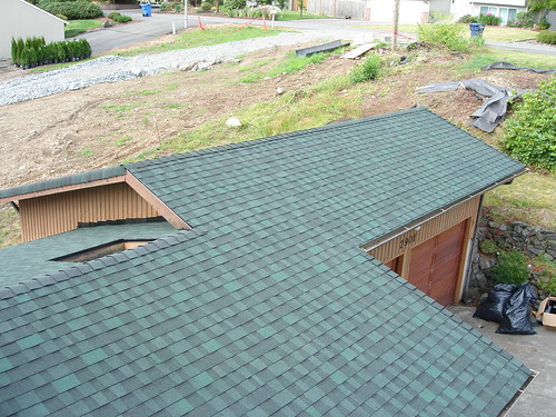 Architectural Roofing Finished Product Rainier View
