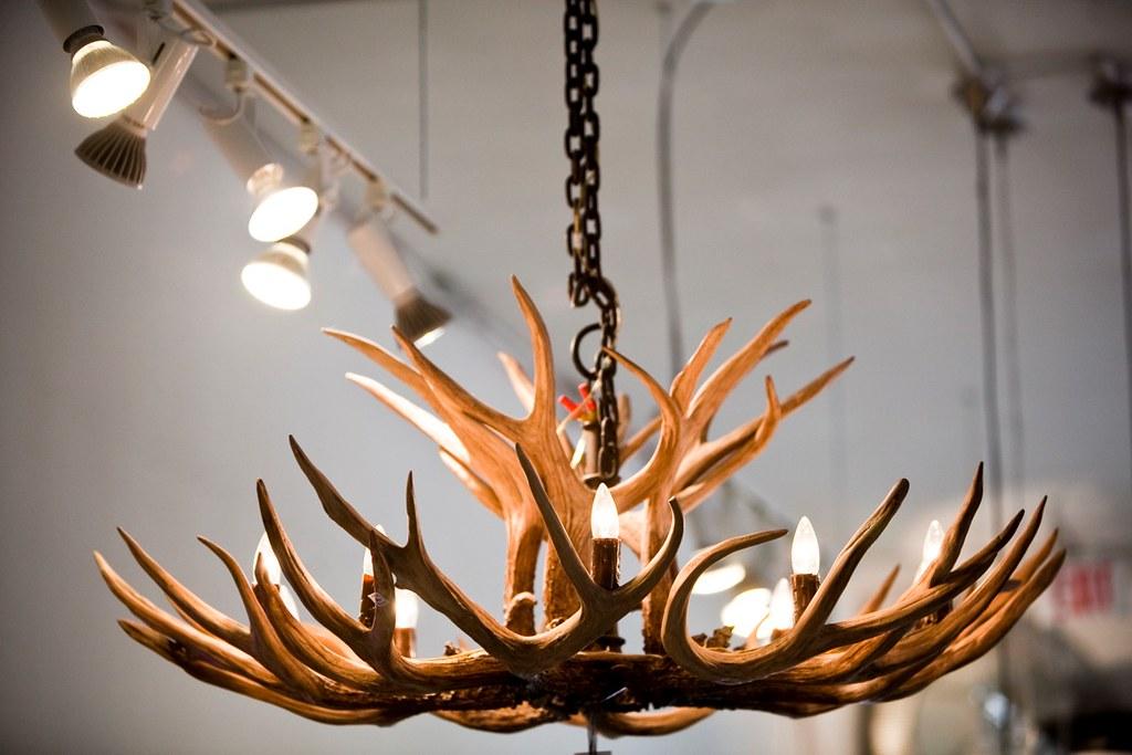Resin antler chandelier resin antler chandelier imported f flickr resin antler chandelier by metric design aloadofball Choice Image