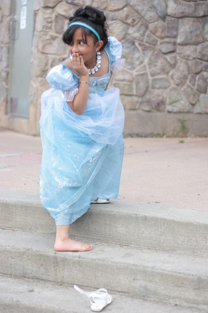 Cinderella Loses Her Shoe