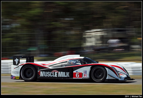 American Le Mans - Sunday race - Lucas Luhr/Klaus Graf | by Tanner.