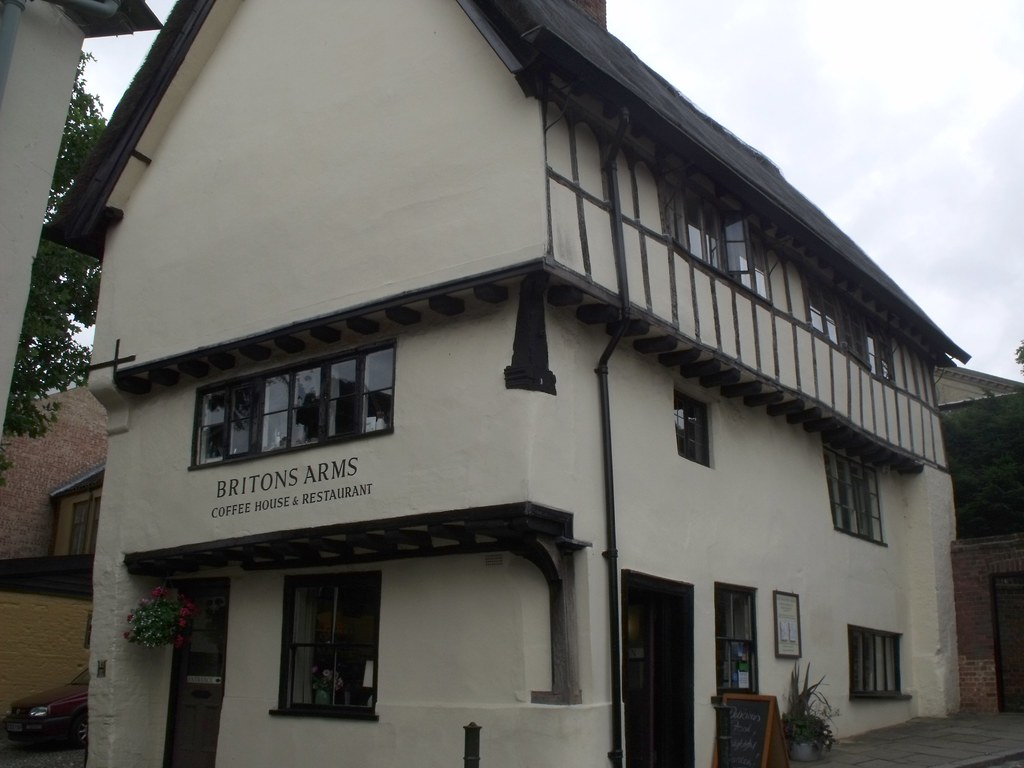 High Altitude Norwich >> Briton Arms, 9 Elm Hill, Norwich | The famous Elm Hill - the… | Flickr