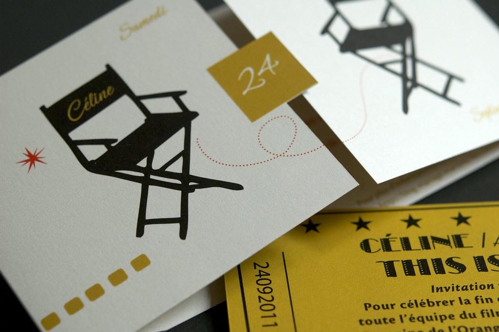 Wedding Cinema Invitation • Céline & Alexandre | film produc… | Flickr