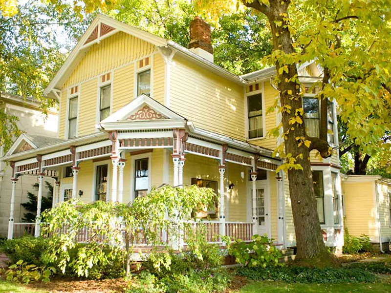 Victorian Yellow Body Sunbath Ecc 50 1 Trim Moon Rise W Flickr - How-to-paint-a-victorian-style-home