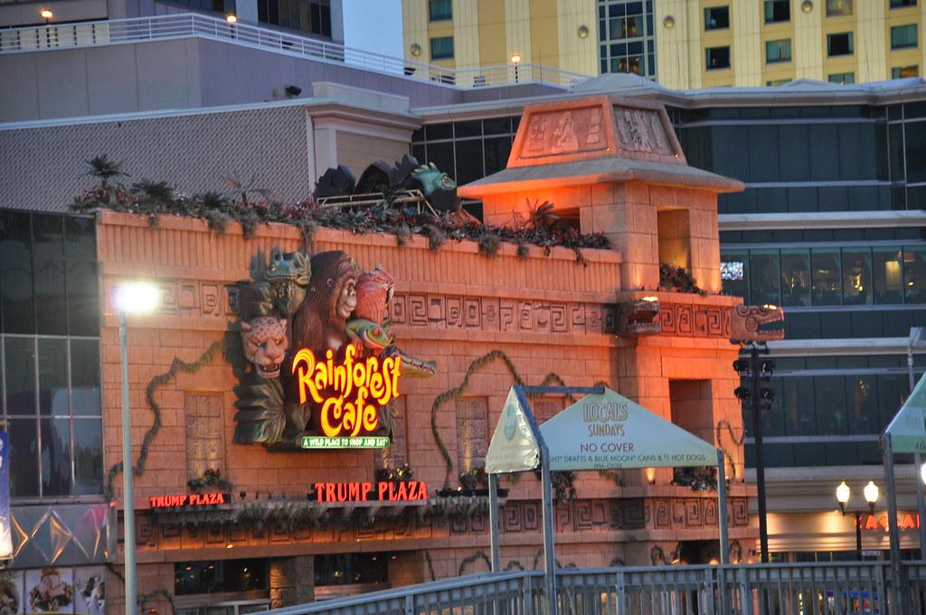 Rainforest Cafe Atlantic City Groupon