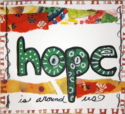 Hope greeting card | by marciadotcom