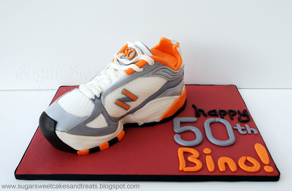 2011 07 Sneaker Running Shoe Cake A Replica Of The New Bal Flickr