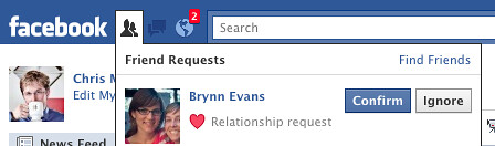 How To Request A Relationship On Facebook