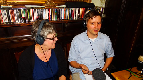 Vanda and Rich, guests on WHYS discussing the News Of The World collapse | by Ben Sutherland