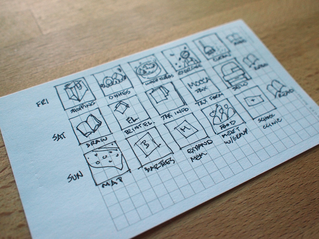 visual to do list by designedlyhappy