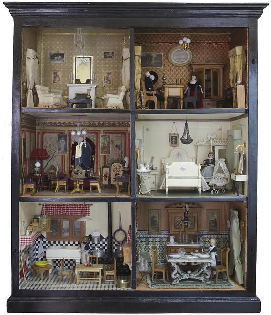 Casa de mu ecas de la colecci n del museo del romanticismo - Casa de munecas ...