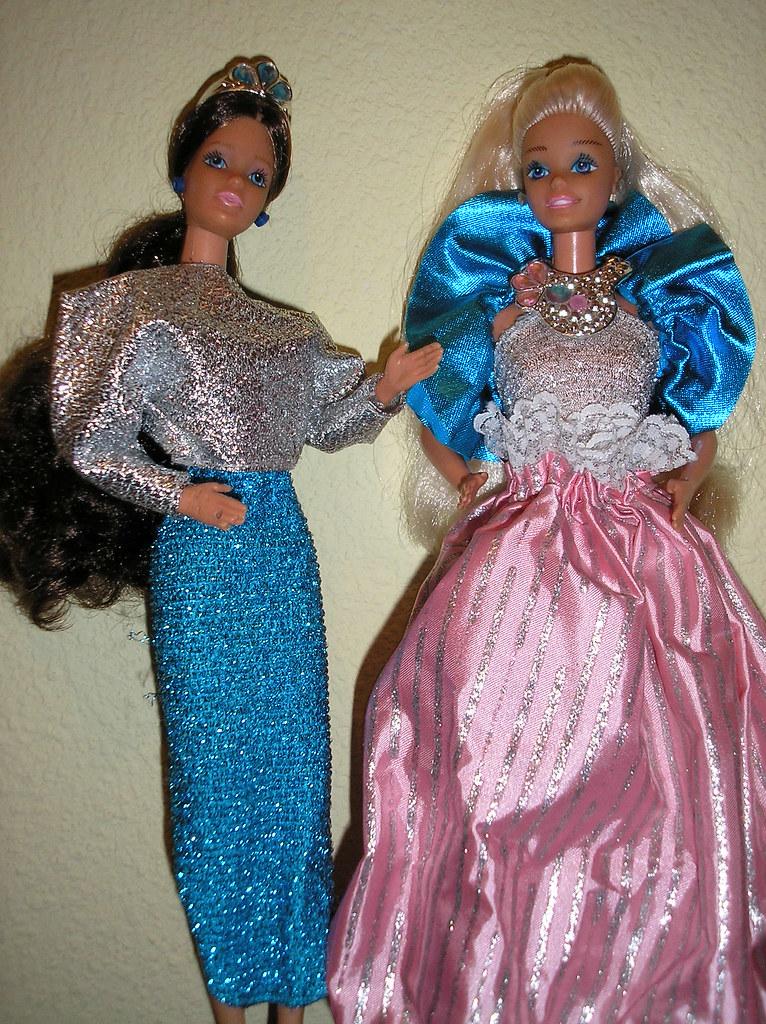 Barbie princesa laura y barbie diamantes vesion espa ola for Barbie wohnzimmer 80er