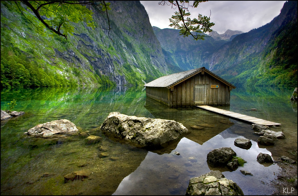 Obersee Berchtesgaden National Park Germany Honours