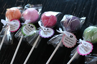 Fiesta Baby Shower Cake Pops | by Sweet Lauren Cakes