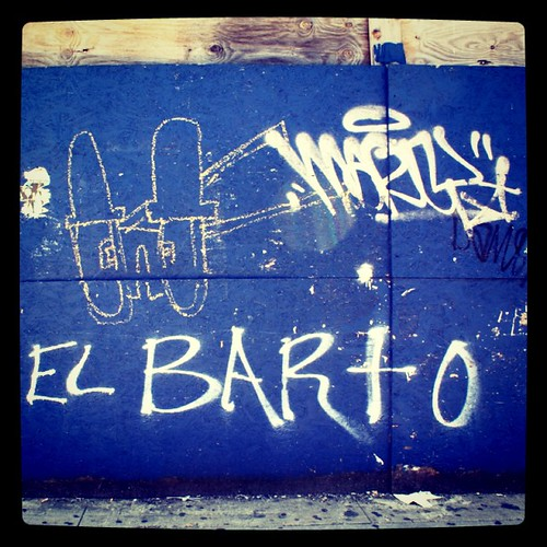 El Barto in Williamsburg | by astrodub
