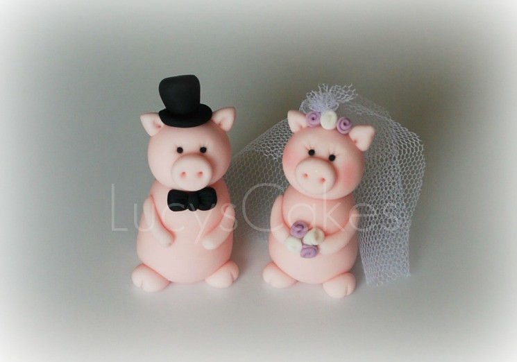 Novelty Wedding Cake Toppers