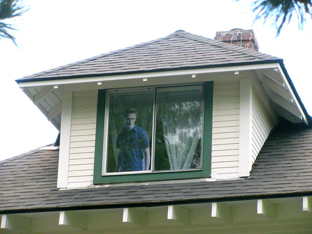 Edward In The Window Of The Fake Cullen House Forks Wa