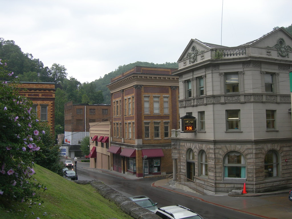 Downtown Welch West Virginia Taken From The Courthouse