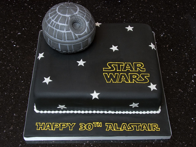 Death Star Cake Topper