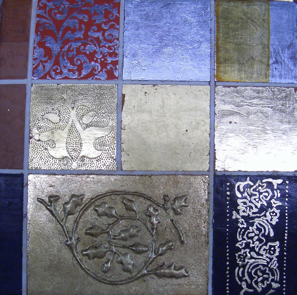 Decorazioni applicate sulla foglia d\'oro e d\'argento | Flickr