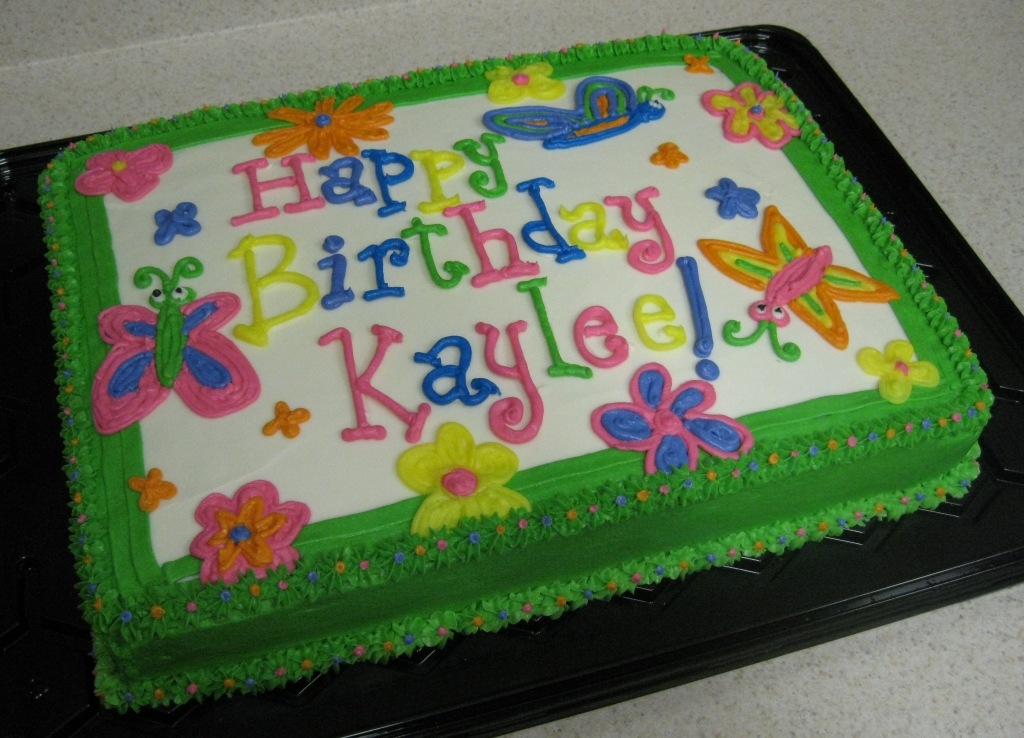 Birthday Rectangle Cake Decoration For Men