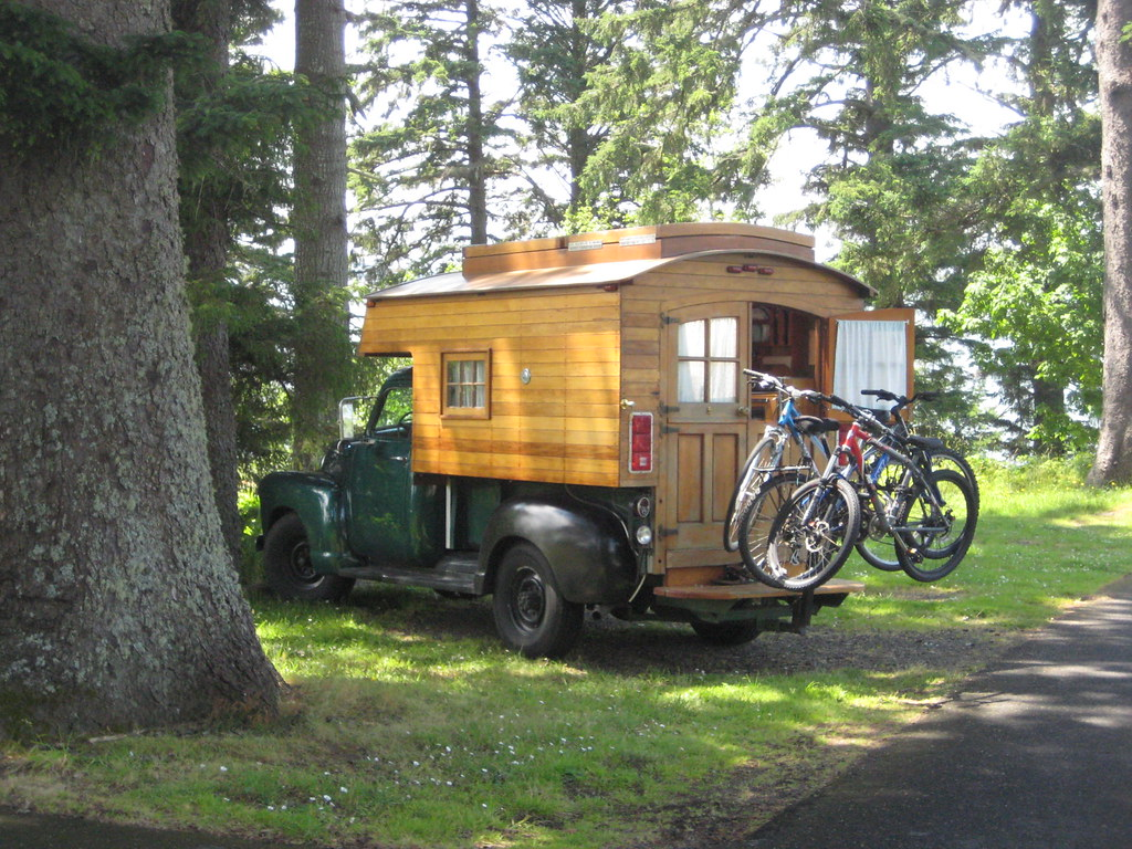 homemade truck camper from the 60s in amazing shape by 3cala - Home Built Truck Camper Plans