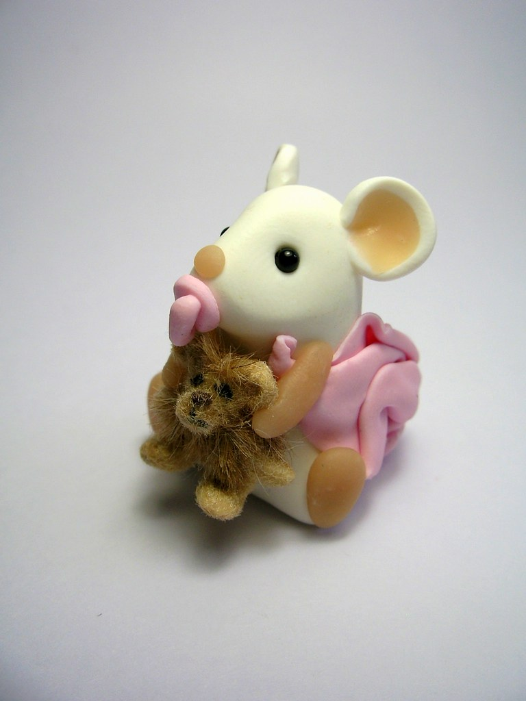 Cute Baby Mouse Teddy Bear Pixshark