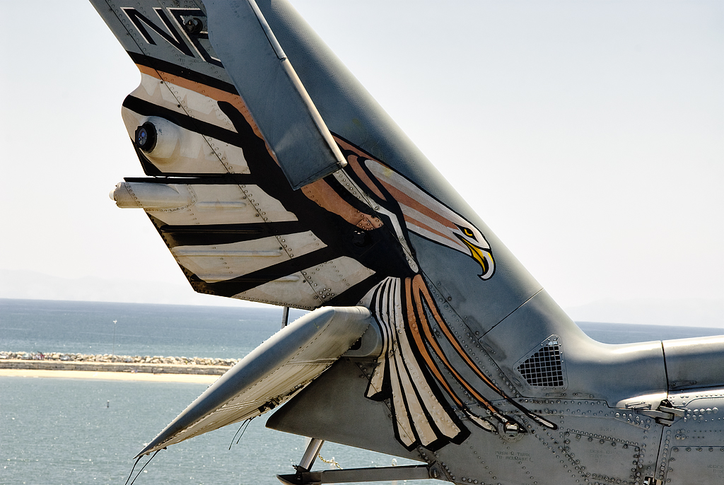 Tail Art On A Wicked Helicopter Latest Model Of Sikorsky