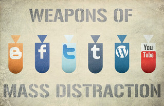 weapons of mass distraction | by Hunter Langston