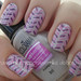 Nail art - Purple Rain