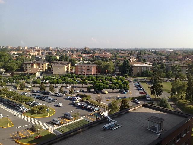 Panoramica Desio-Milano