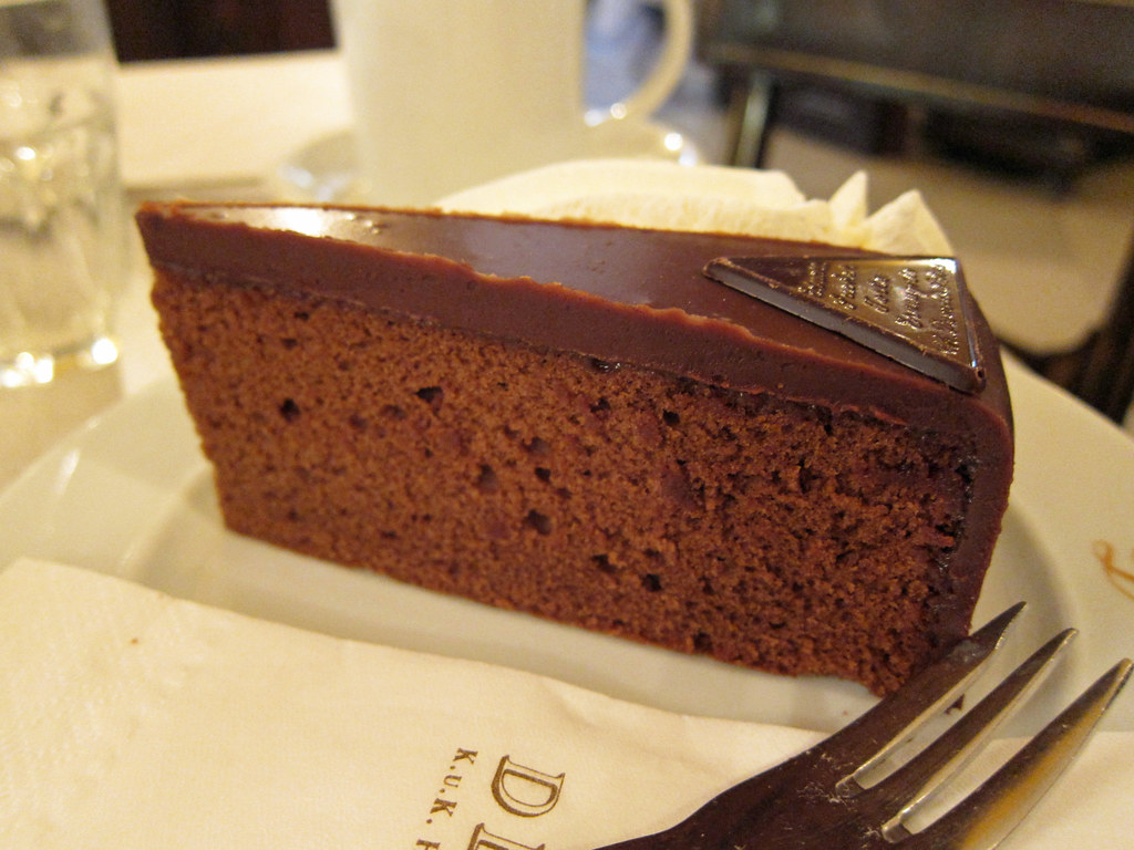 Sachertorte | Another brunch at Demel in Vienna. | su-lin ...