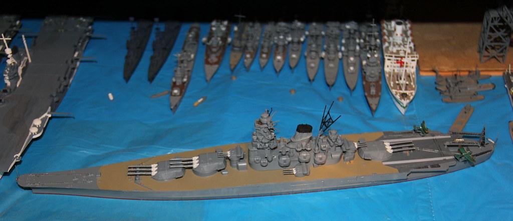 1 700 ijn battleship musashi by tamiya imperial japanese n flickr