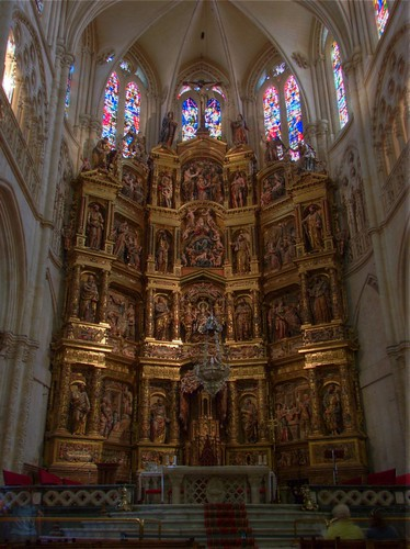 (HDR) Burgos' cathedral - Major altar | by josago