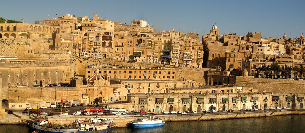 Port Of La Valetta Malta From Our Cruise With The Msc