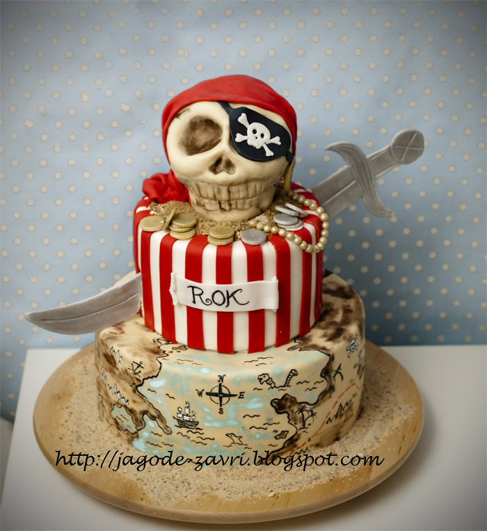 Pirate Cake Matejad Flickr