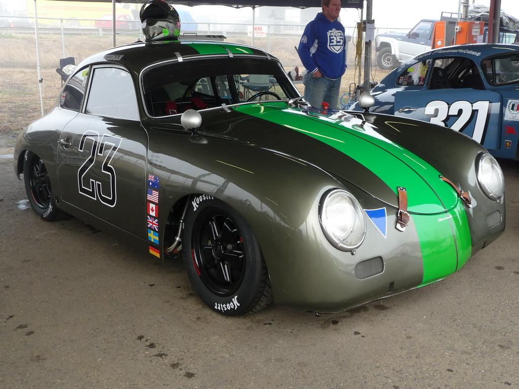 Porsche Porsche 356 At The Hsrca Historic Car Races