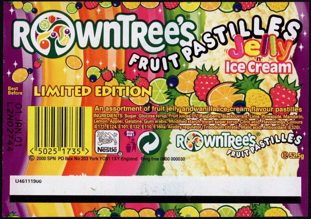 Uk - Rowntree U0026 39 S Fruit Pastilles