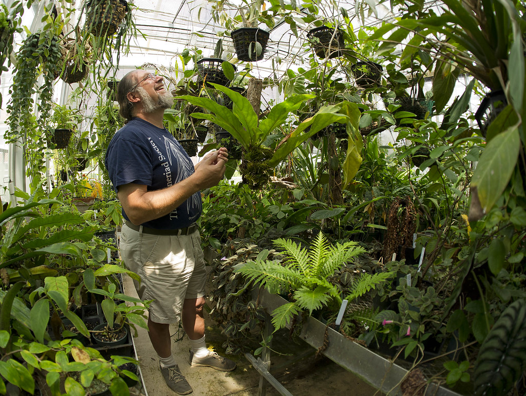 365 Vu 196 Greenhouse Manager Jonathan Ertelt Tends To