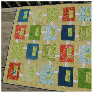 Coming Soon baby quilt | by Mel Sews