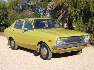 1974 Datsun 120y Sedan Covers A Popular Car In Its Time