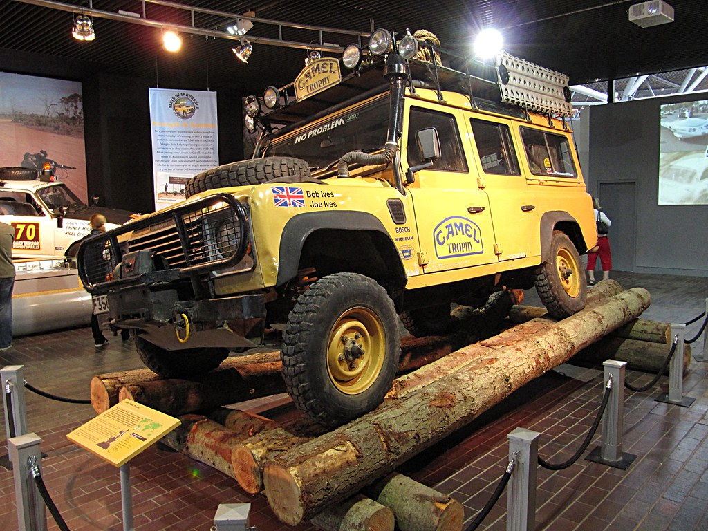 Land Rover Camel Trophy | Beaulieu Motor Museum Sorry for ...