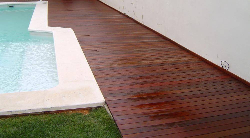 Suelos de madera en jardines los suelos de madera - Suelo de madera para jardin ...