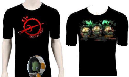 KSP tee shirt 1 | KSP Tshirt mockk-up design by Lennyoliy | Kerbal ...