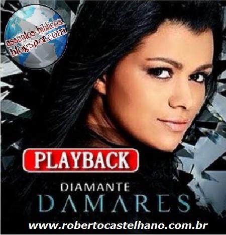 playback cd diamante damares