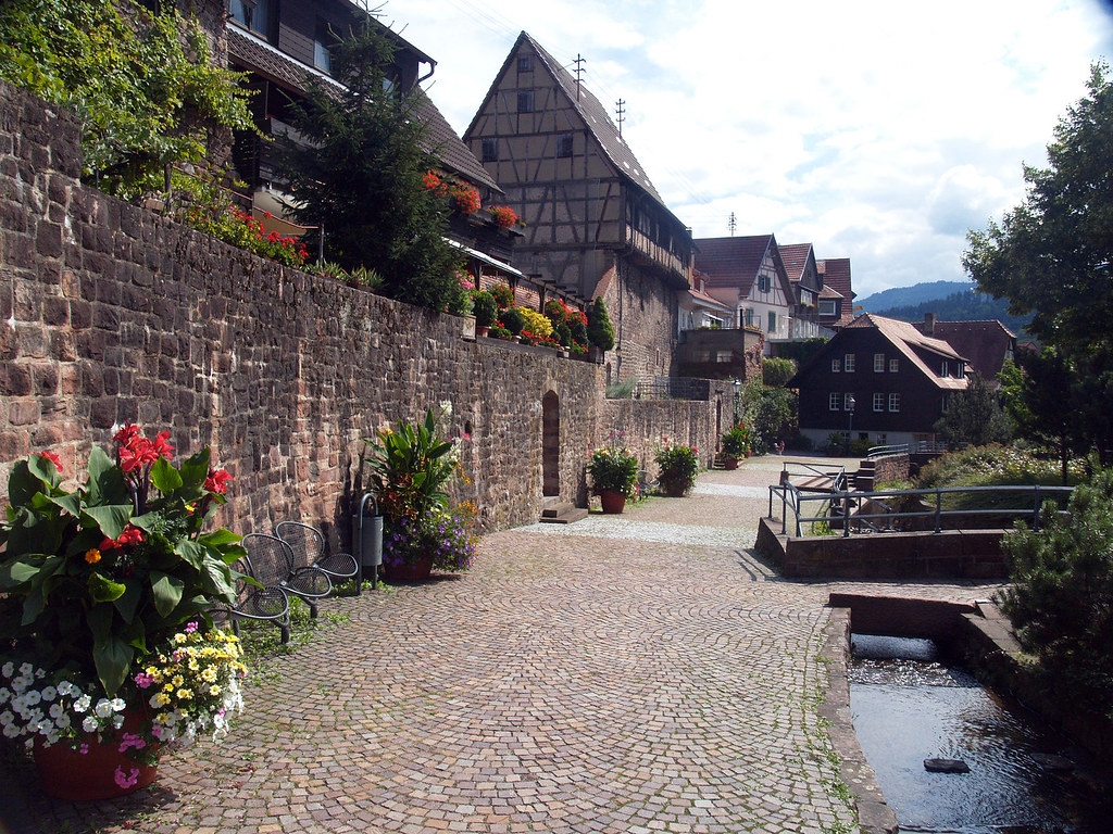 Black Forest town Gernsbach | See where this picture was ...