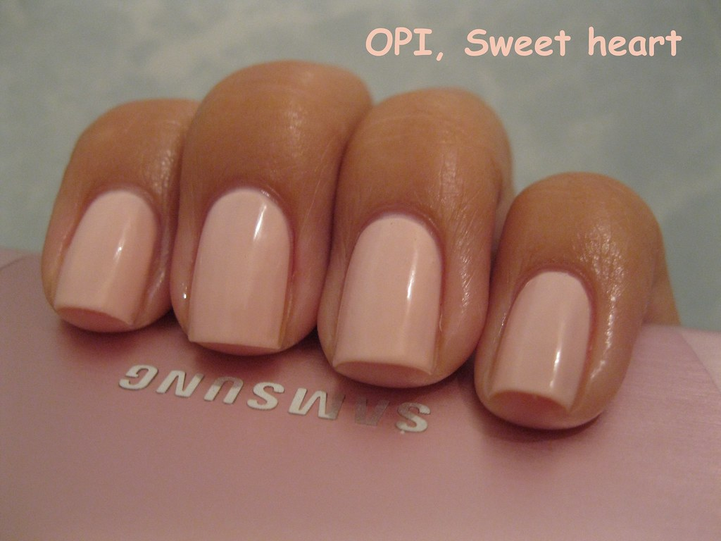 Extrêmement OPI, Sweet heart | Olga Sergeeva | Flickr GJ62