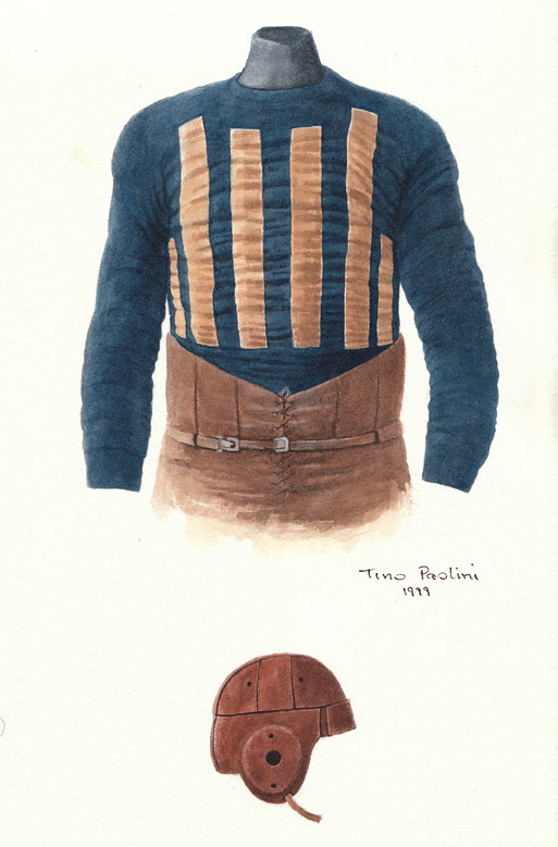 Decatur Staleys 1920 Uniform Artwork This Is A Highly