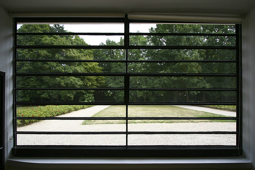 Ground Floor Window : Ground floor window le corbusier s villa savoye his