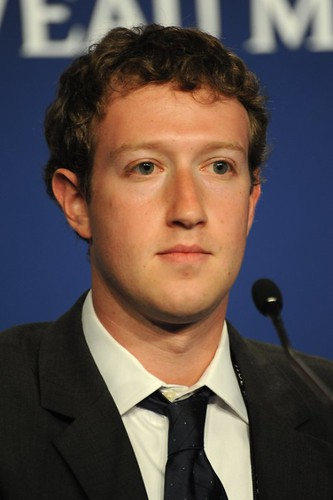 Mark Zuckerberg at the 37th G8 Summit in Deauville | by Guillaume Paumier